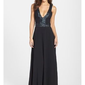 Brand New! Dress the Population Delani gown